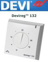 Терморегулятор Devireg™ 132 с комбинацией датчиков температуры пола и воздуха