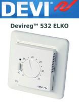 Терморегулятор Devireg™ 532 ELKO с датчиком пола и воздуха