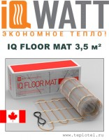 Греющий мат IQ FLOOR MAT 3,5м²