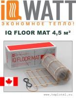 Греющий мат IQ FLOOR MAT 4,5м²